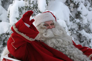 Santa-in-the-Square-Oakville